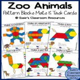 Zoo Animals Pattern Blocks Mats