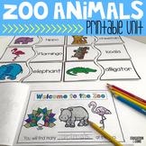 Zoo Animals Activities