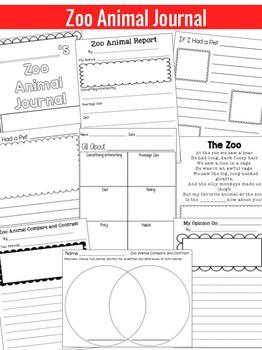 Zoo Animals Activities | Zoo Animals Reading