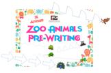 Zoo Animals Pre-writing | Worksheet Printable