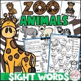 Zoo Animals Preschool (Preschool Sight Words)