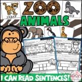Zoo Animals Preschool (Zoo Animals Kindergarten) (Preschool Sight Words)