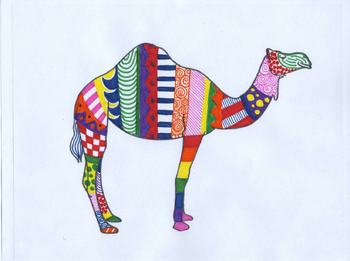 Zoo Animals Printable Full-Page Outlines / Templates for ALL Grades and Subjects