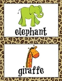 Zoo Animals Read and Write the Room