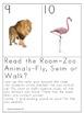 Zoo Animals-Read the Room