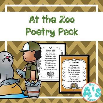 Zoo Animals Shared Reading **BUNDLE**