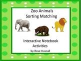 Zoo Animals Interactive Notebook Activities Special Educat