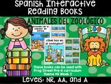 Zoo Animals Spanish Interactive Reading Books Can Be Used With Frog Street