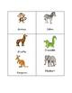 Zoo Animals Syllabication Cards