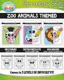 Zoo Animals Symmetry Skill Activity Pack {Zip-A-Dee-Doo-Dah Designs}