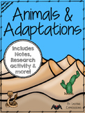 Animals and Adaptations Bundle