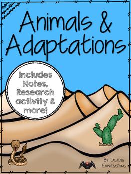 Animals and Adaptations Bundle