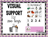 Zoo Animals Visual Support {for Autism}