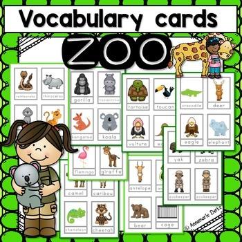 Zoo Vocabulary