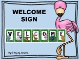{Zoo Animals} Welcome Sign