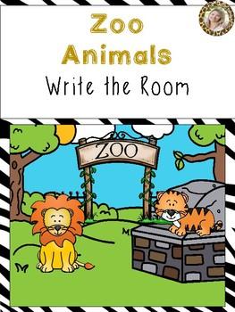 Zoo Animals Write the Room