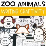 Zoo Animals Writing Craftivity (Zoo Field Trip Activity)