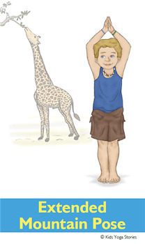 zoo animals yoga cards for kidskids yoga stories  tpt