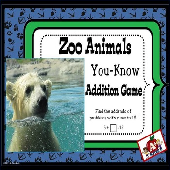Zoo Animals You-Know Addition