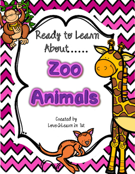 Zoo Animals {Zoo Unit}
