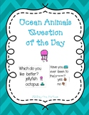 Ocean Animals Question of the Day