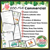 Zoo Ave Commercial Lesson and Activities