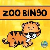 Zoo Animal BINGO