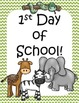 Zoo Back to School Printables pack #backwithboom