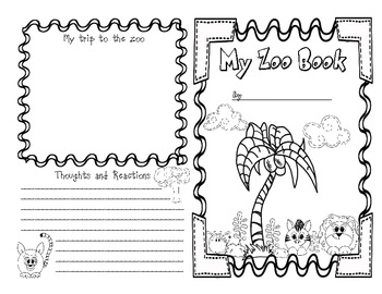 Zoo Book Printable