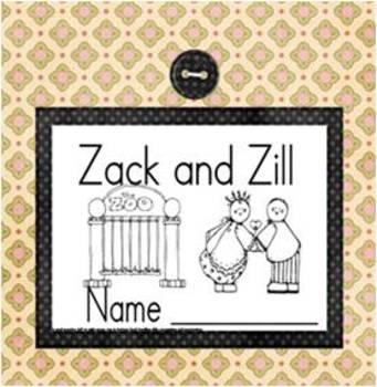 Zoo Book - Highlight the Zz's