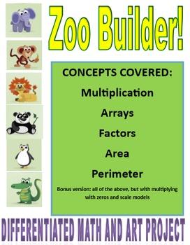 Area and Perimeter! Zoo Builder!