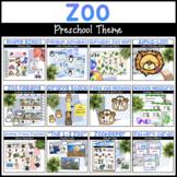 Zoo Bundle | Literacy, Math, Science, & More