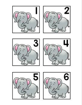 Zoo Calendar Numbers