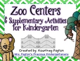 Zoo Centers & Supplementary Activities for Kindergarten