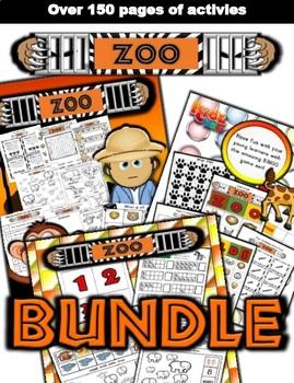 Zoo Classroom Center Bundle