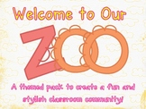 Zoo Classroom Theme Pack