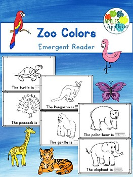 Zoo Colors Emergent Reader