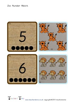 Zoo Count and Match