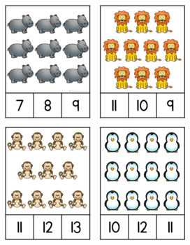Zoo Counting (1-20)