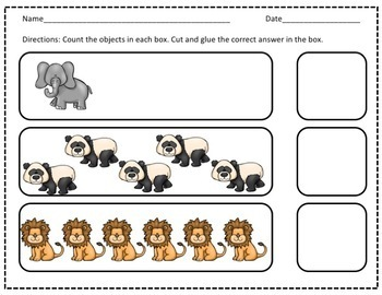 Zoo Counting Book 0-10