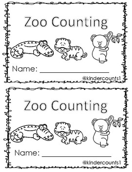 Zoo Counting Book 1-10