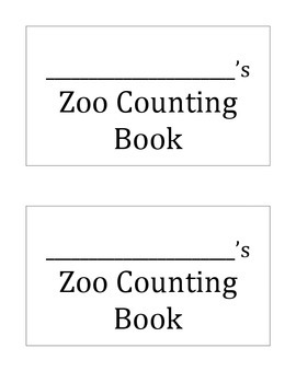 Zoo Counting Book