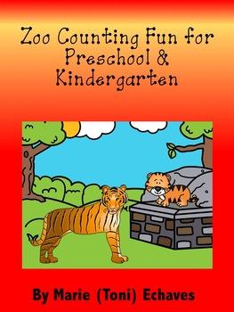 Zoo Counting Fun for Preschool & Kindergarten