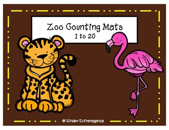 Zoo Counting Mats 1-20