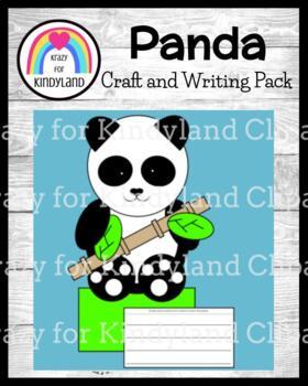 Zoo Craft and Writing: Panda