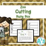 Zoo Cutting Busy Box