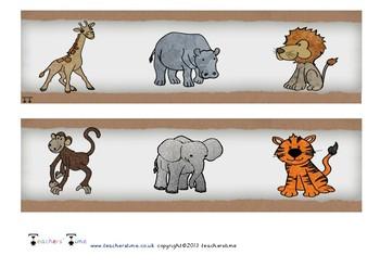 Zoo Display Border