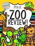 Zoo ELA and Math Printables