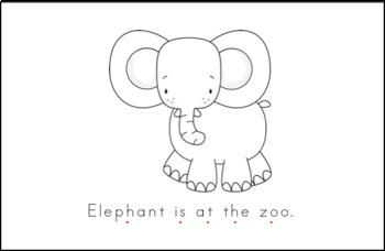 Zoo Early Emergent Reader - BUNDLE