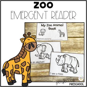Zoo Emergent Reader